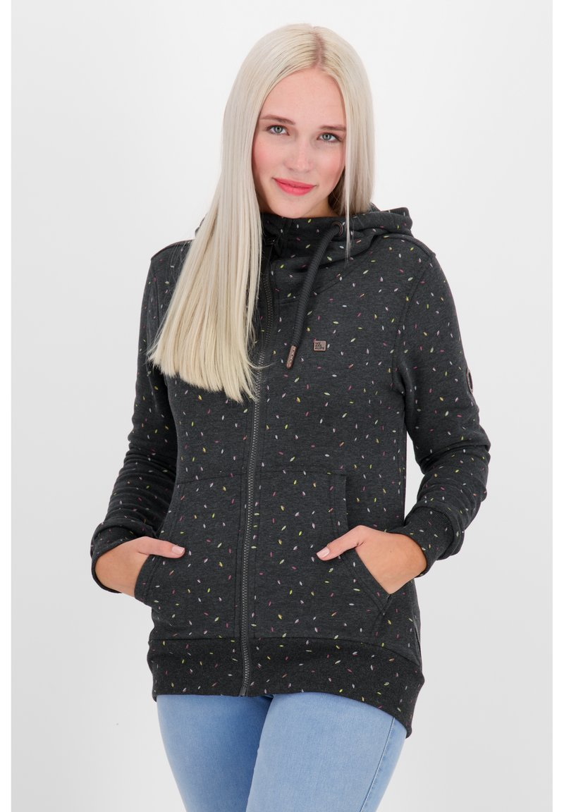 alife & kickin - Zip-up hoodie - moonless
