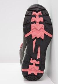 Hi-Tec - BANDERA II WP  - Hiking shoes - charcoal/graphite/blossom - 5