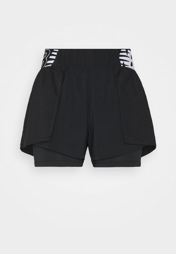 RELENTLESS SHORT - Sports shorts - black