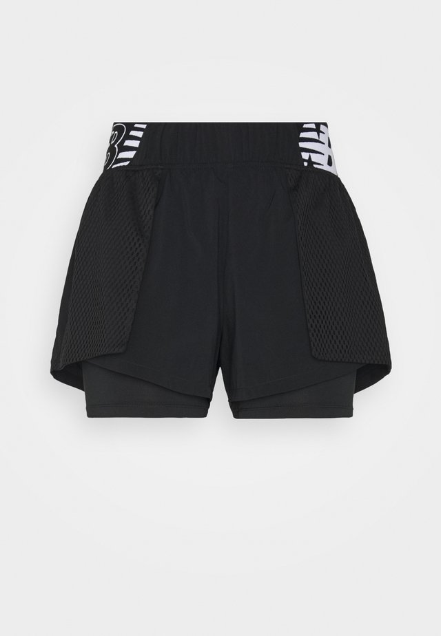 RELENTLESS SHORT - Urheilushortsit - black