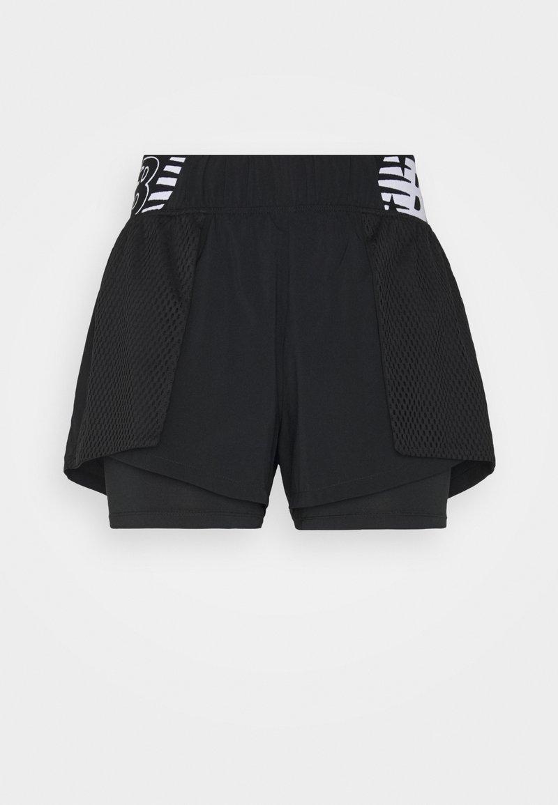 New Balance - RELENTLESS SHORT - Sports shorts - black