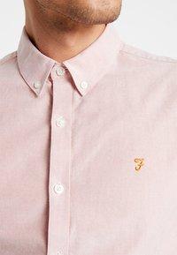 Farah - BREWER SLIM FIT - Shirt - peach - 6