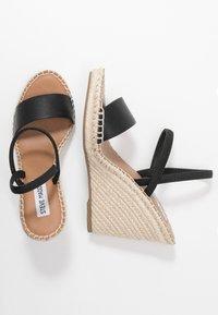 Steve Madden - MCKENZIE - High heeled sandals - black - 3