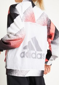 adidas Performance - Training jacket - white/signal pink/black - 6