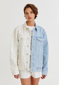 PULL&BEAR - Denim jacket - white - 6