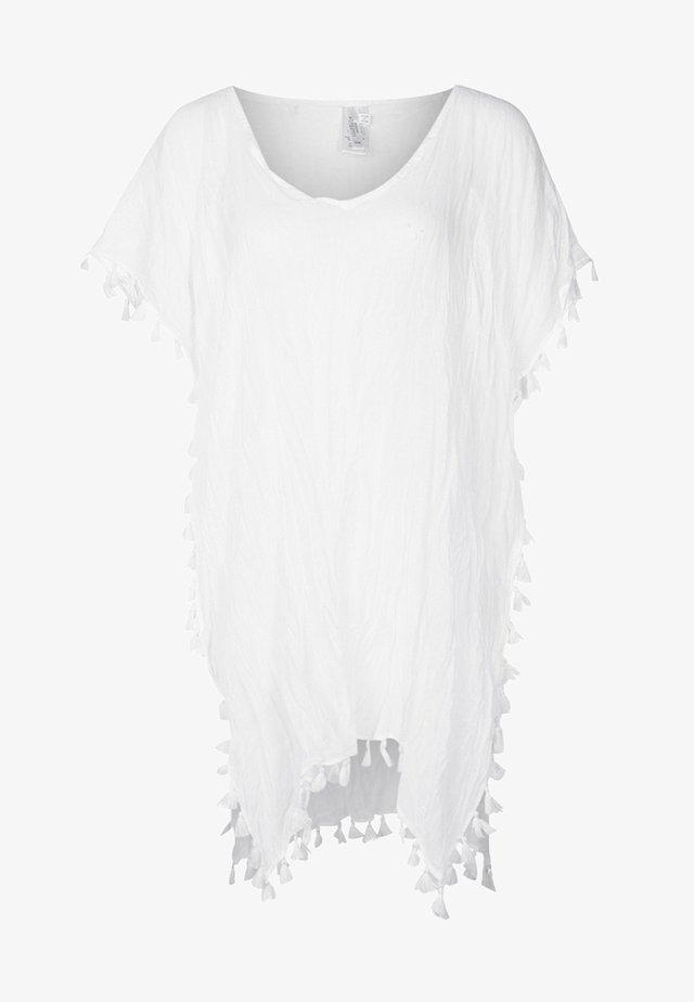 AMNESIA KAFTAN - Strandaccessoire - white