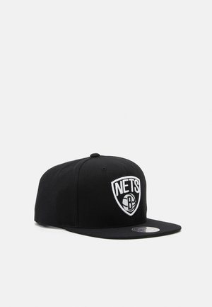 BROOKLYN NETS SOLID SNAPBACK - Gorra - black