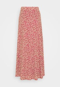 ONLY Tall - ONLPELLA SKIRT - Maxi sukně - mineral red - 5