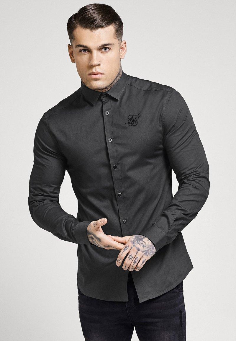 SIKSILK - STRETCH - Overhemd - dark grey