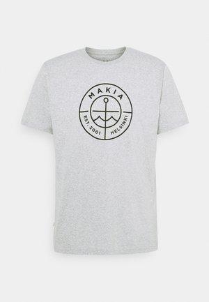 RE SCOPE - Print T-shirt - light grey