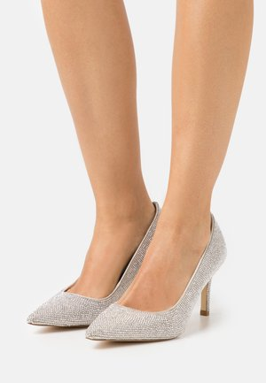 BOMBSHELL - Classic heels - silver