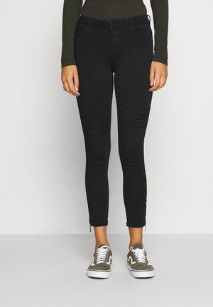 NMKIMMY BIKER - Jeans Skinny Fit - black