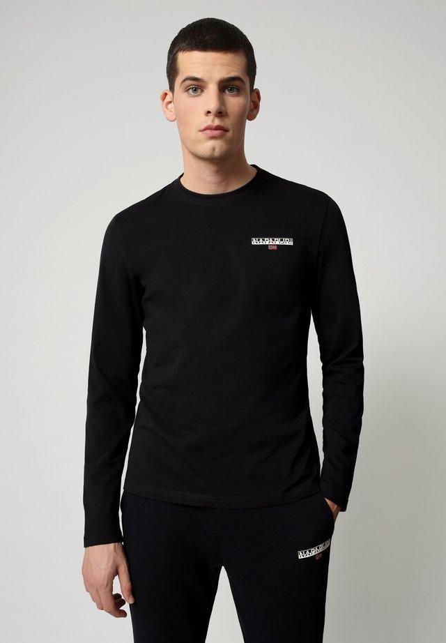 S-ICE LS - Pitkähihainen paita - black