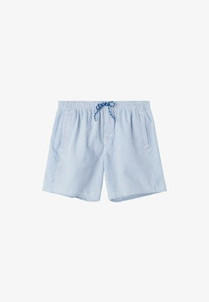 Swimming shorts - hyper blue/bianco