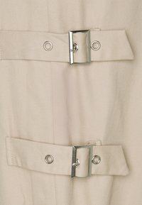 NA-KD - SIDE DETAILED PANTS - Trousers - beige - 2