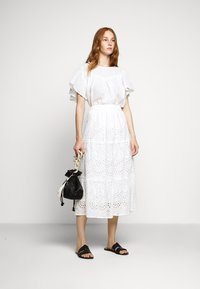 Bruuns Bazaar - ABELINA LAURANA SKIRT - A-line skirt - snow white - 1