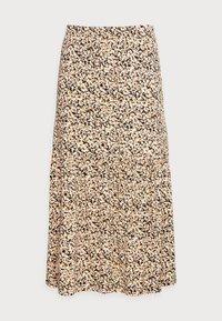 Moss Copenhagen - MABEA SKIRT - A-line skirt - black flower - 3