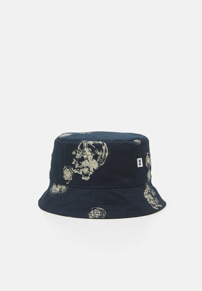 Wood Wood - GRAPHIC BUCKET HAT - Hat - blue