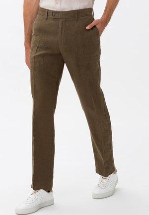 STYLE EVANS - CHINO - Trousers - khaki