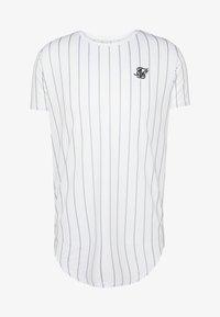 SIKSILK - PINSTRIPE TEE - T-shirt med print - white - 3