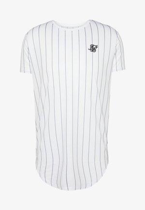PINSTRIPE TEE - T-shirt imprimé - white