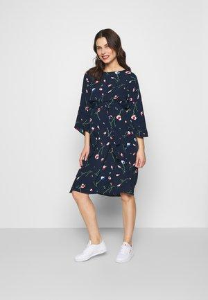 MLMILA WOVEN DRESS - Korte jurk - navy blazer