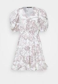 Bruuns Bazaar - POSY OLIVINE DRESS - Day dress - snow white - 5
