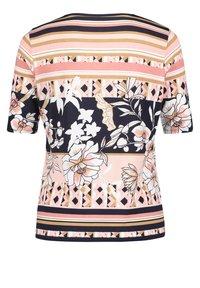Betty Barclay - Print T-shirt - dark blue-rosé - 4