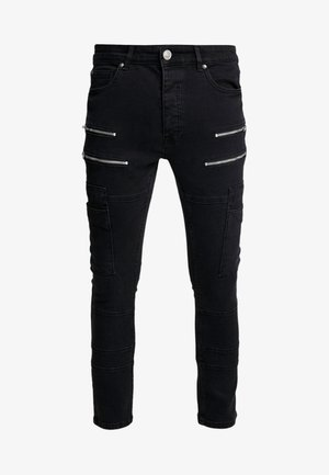 LORTON - Jeans Skinny Fit - charcoal wash