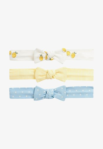 3 PACK - Hair styling accessory - yellow