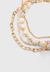 Stradivarius - SET - Bracelet - gold - 4