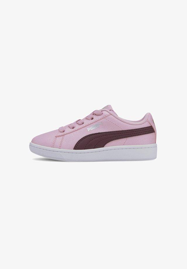 VIKKY V2 GLITZ 2 AC - Sneakers - pale pink-burgundy- silver