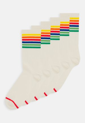 KIRSTEN SOCK 5 PACK - Strumpor - white dusty light