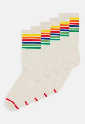 KIRSTEN SOCK 5 PACK - Socks - white dusty light