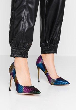 High heels - multicolour