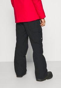 Quiksilver - PORTER - Snow pants - true black - 2