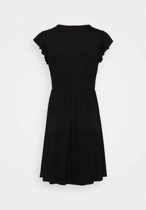 ONLBELIA DRESS - Jersey dress - black