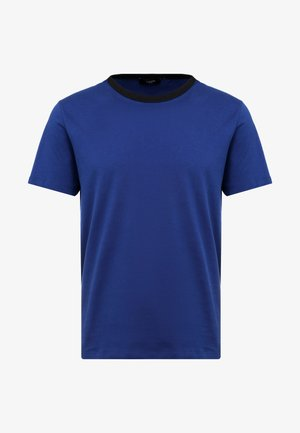 JPRLARS TEE CREW NECK - T-Shirt basic - blue depths/black