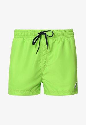 Swimming shorts - lightgreen/navy