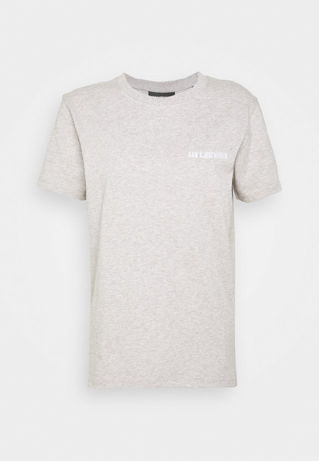 CASUAL TEE - T-shirts med print - grey