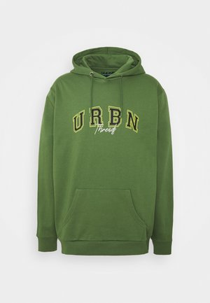 EXTREME OVERSIZED HOODY UNISEX  - Sudadera - green