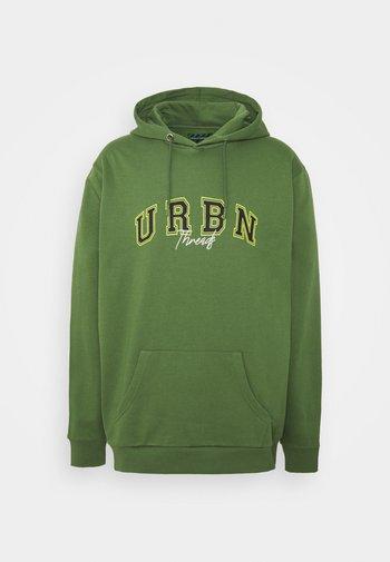 EXTREME OVERSIZED HOODY UNISEX  - Sweatshirt - green