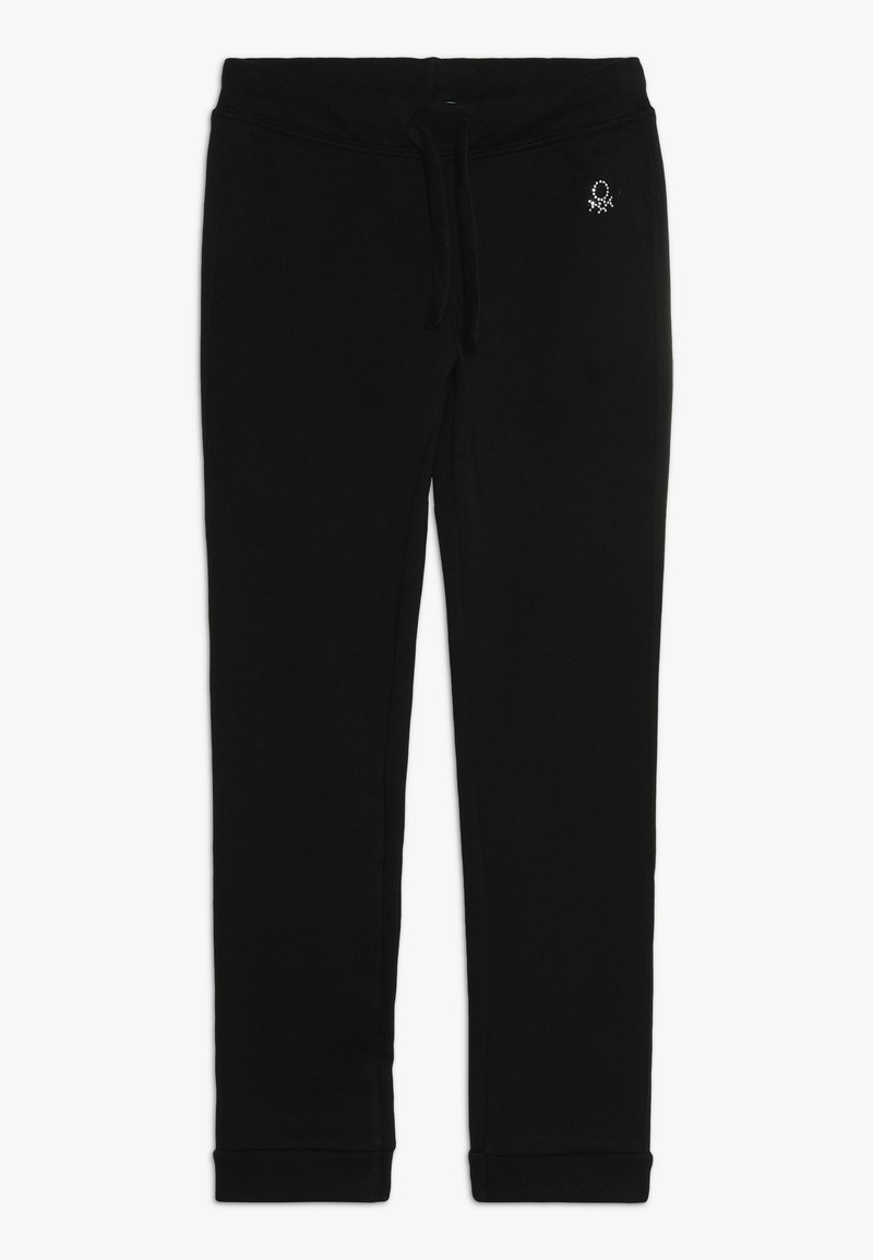 Benetton - TROUSERS - Teplákové kalhoty - black