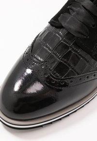Caprice - Šněrovací boty - black - 2