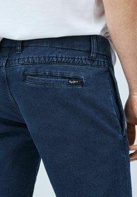 Pepe Jeans - JAMES - Denim shorts - indigo blau - 4