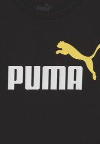 Puma - LOGO UNISEX - Camiseta estampada - black - 2