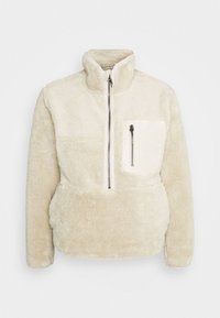 ONLY - ONLDALINA ZIP - Sweat polaire - pumice stone - 5