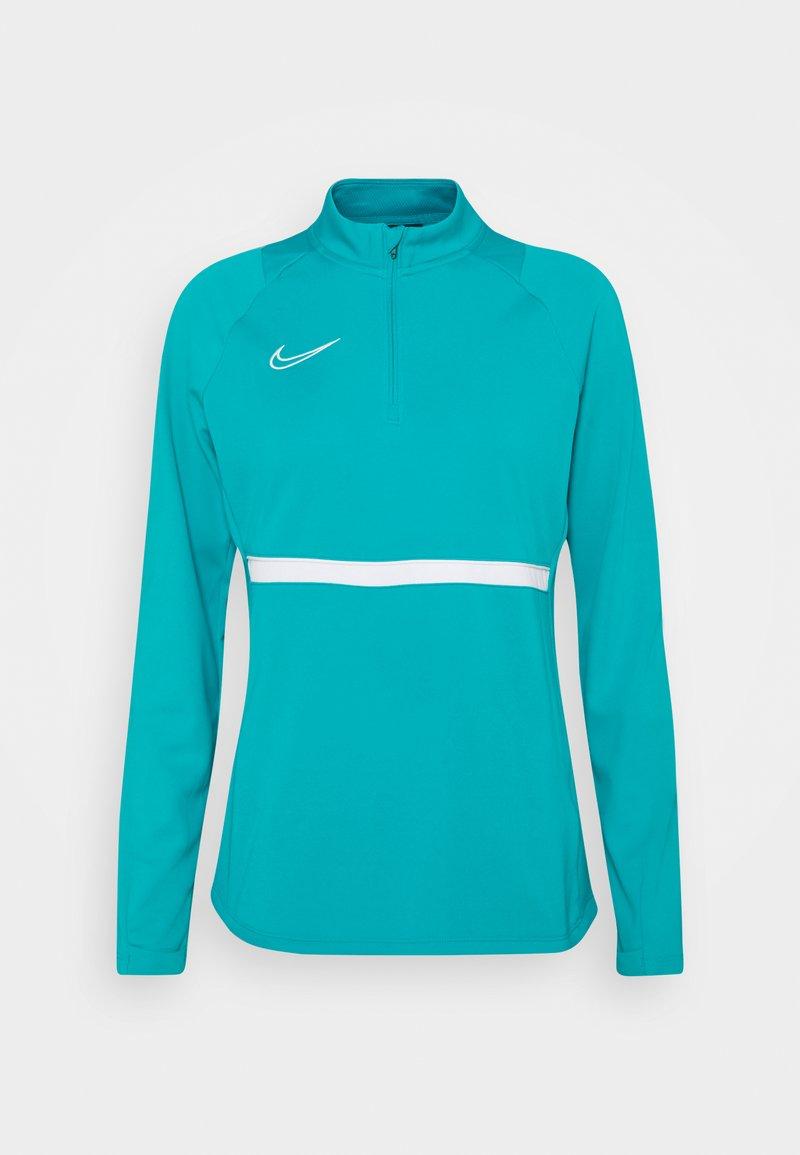 Nike Performance - ACADEMY 21 - Sweatshirt - aquamarine/white