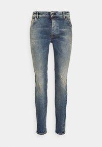 Tigha - BILLY THE KID DESTROYED - Slim fit jeans - vintage mid blue - 3