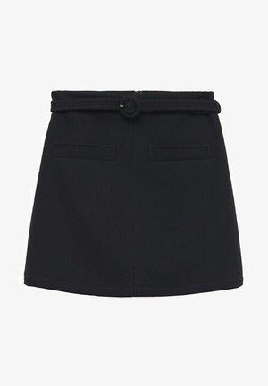 CEINTURE - A-line skirt - noir
